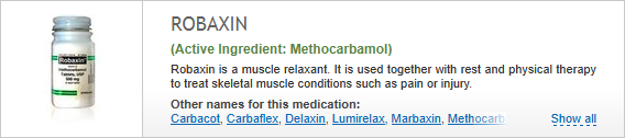 buy methocarbamol