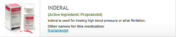 Propranolol |  Next Day