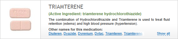 buy triamterene